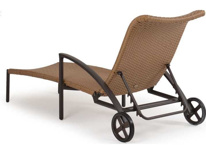 Palm springs rattan aluminum 3200 series chaise lounge for Chaise serie 7