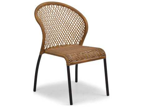 Palm Springs Rattan Aluminum 3200 Series Bistro Dining Chair PS3211