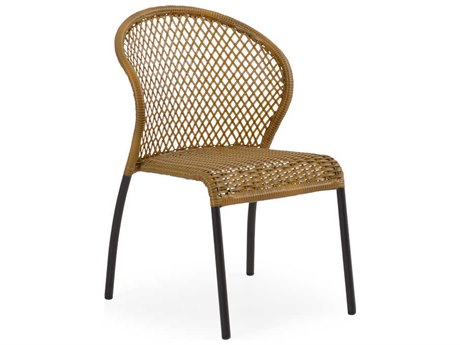Palm Springs Rattan Cape Town Aluminum 3200 Bistro Side Chair PatioLiving