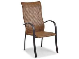 Palm Springs Rattan Aluminum 3200 Series High Back Dining Chair