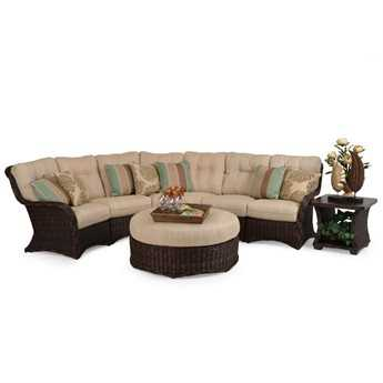 Palm Springs Rattan 4300 Series Sectional Set