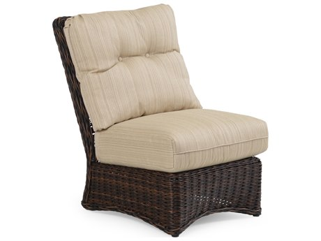 Palm Springs Rattan 4300 Series Armless Sectional Chair Replacement Cushions