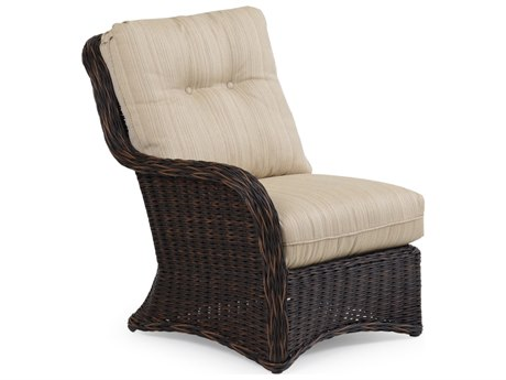 Palm Springs Rattan 4300 Series Left Facing Sectional Chair Replacement Cushions