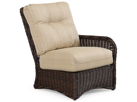 Palm Springs Rattan 4300 Series Right Facing Sectional Chair Replacement Cushions