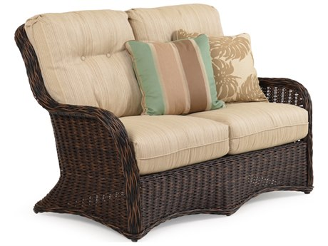 Palm Springs Rattan 4300 Series Deep Seating Loveseat Replacement Cushions