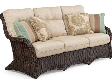 Palm Springs Rattan 4300 Series Deep Seating Sofa Replacement Cushions