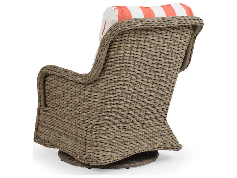 Palm Springs Rattan 4300 Series Swivel Glider Lounge Chair