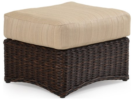 Palm Springs Rattan 4300 Series Rectangle Ottoman Replacement Cushion