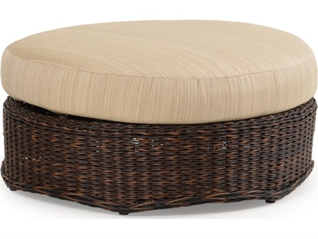 Palm Springs Rattan 4300 Series Round Ottoman Replacement Cushion