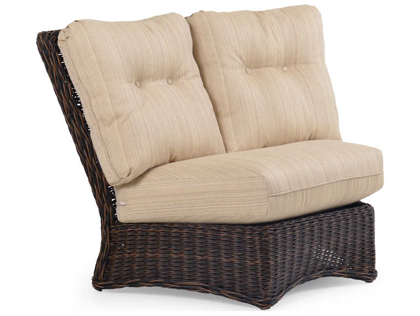 Incredible Palm Springs Rattan 4300 Series 45 Degree Corner Sectional Wedge Theyellowbook Wood Chair Design Ideas Theyellowbookinfo
