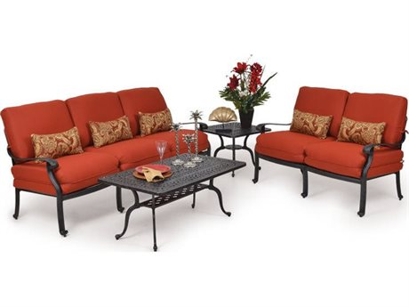 Palm Springs Rattan 5600 Series Aluminum Lounge Set