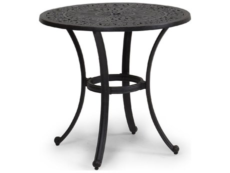Palm Springs Rattan 5600 Series 28 x 30 Round Bronze Bistro Table