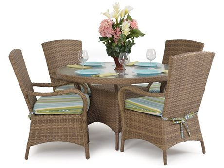 Palm Springs Rattan 6000 Series Dining Set PS6000SET5