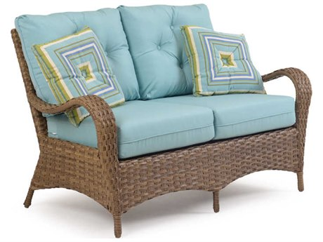 Palm Springs Rattan 6000 Series Deep Seating Loveseat PS6002