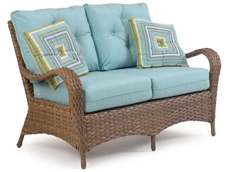 Palm Springs Rattan 6000 Series Deep Seating Loveseat Replacement Cushions