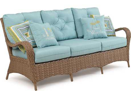Palm Springs Rattan 6000 Series Deep Seating Sofa