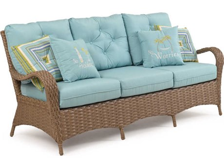 Palm Springs Rattan Alexandria Wicker Sofa PatioLiving