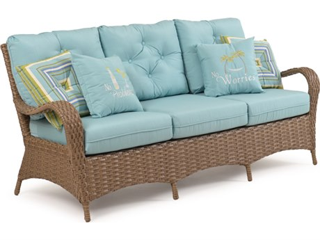 Palm Springs Rattan 6000 Series Deep Seating Sofa Replacement Cushions