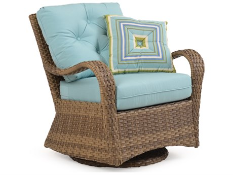 Palm Springs Rattan 6000 Series Deep Seating Swivel Glider Chair  Replacement Cushions