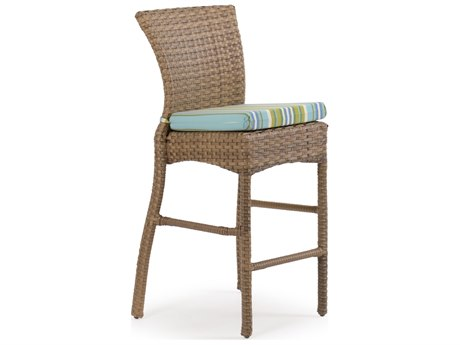 Palm Springs Rattan 6000 Series Bar Height Stool w/ cushion PS6145