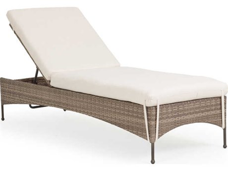 Palm Springs Rattan Augusta Wicker Adjustable Chaise Lounge