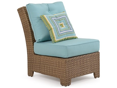 Palm Springs Rattan 6300 Series Armless Chair for Sectional Replacement Cushions PS6301CH