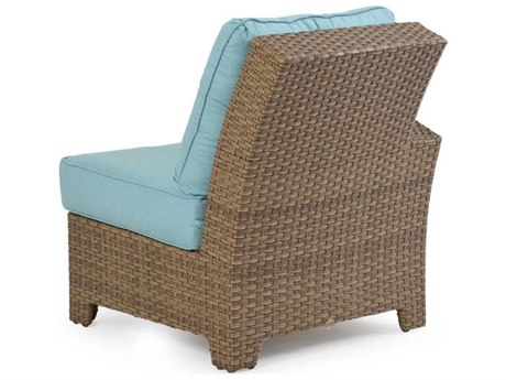 Palm Springs Rattan 6300 Series Left Arm Facing Chair for Sectional Replacement Cushions