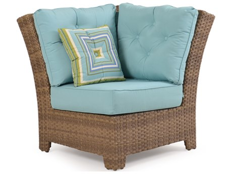 Palm Springs Rattan 6300 Series 90 Degree Wedge Chair for Sectional Replacement Cushions PS6307CH