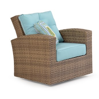 Palm Springs Rattan 6300 Series Swivel Glider Chair Replacement Cushions