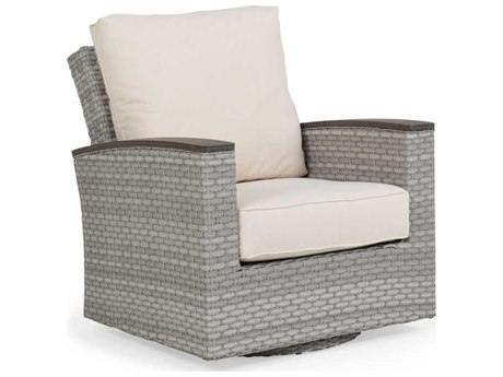 Palm Springs Rattan Adair Replacement Swivel Glider Lounge Chair Cushions