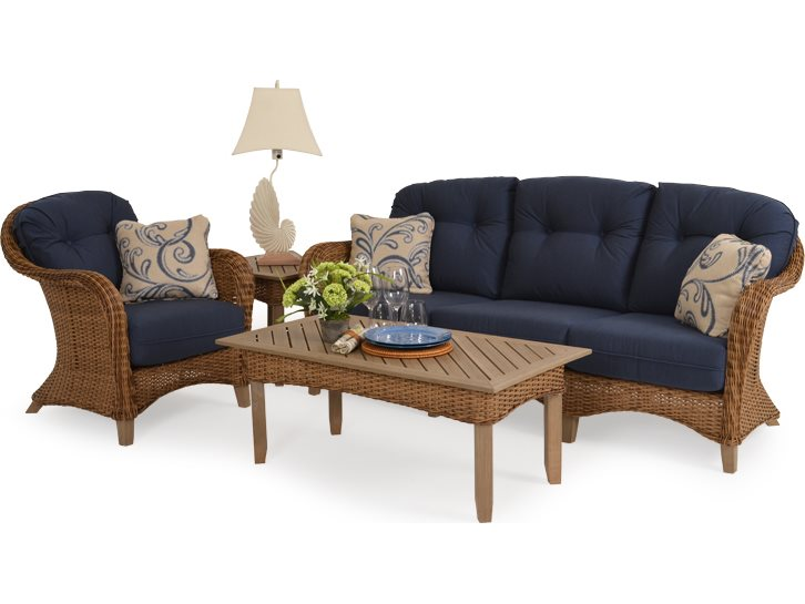 Palm Springs Rattan 6500 Series Wicker 44 5 X 24 Rectangle