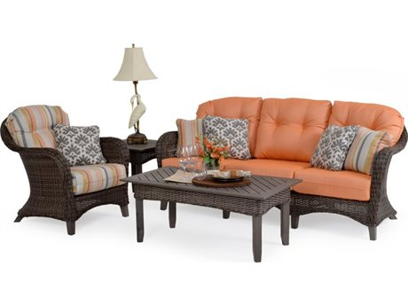 Palm Springs Rattan 6500 Series Wicker Lounge Set