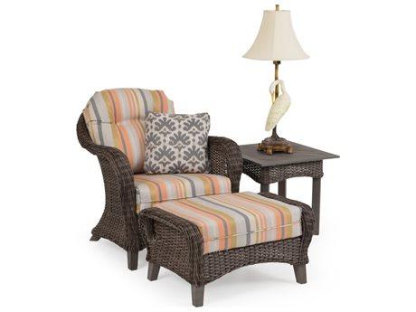 Palm Springs Rattan 6500 Series Wicker Lounge Chair
