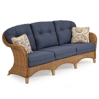 Palm Springs Rattan 6500 Series Wicker Deep Seating Sofa