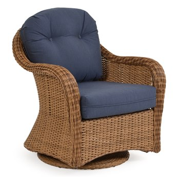 Palm Springs Rattan 6500 Series Wicker Deep Seating Swivel Glider Chair