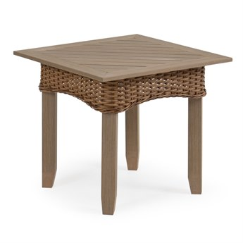 Palm Springs Rattan 6500 Series Wicker 22 Square End Table