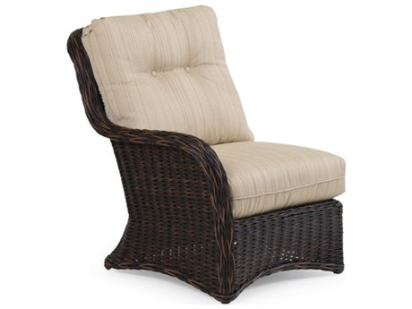Palm Springs Rattan 6500 Series Left Arm Chair for Sectional Replacement Cushions