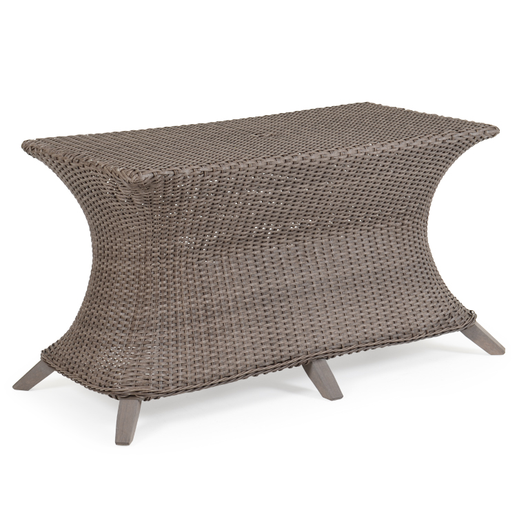 Bamboo Oval Table Lamp: Palm Springs Rattan 6500 Series Wicker Oval Dining Table