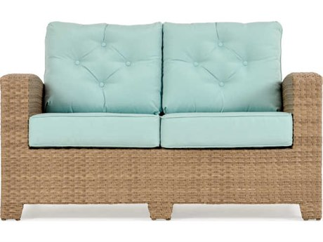 Palm Springs Rattan Seaside Wicker Loveseat