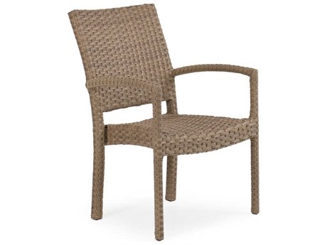 Palm Springs Rattan 6600 Series Wicker Stackable Dining Chair