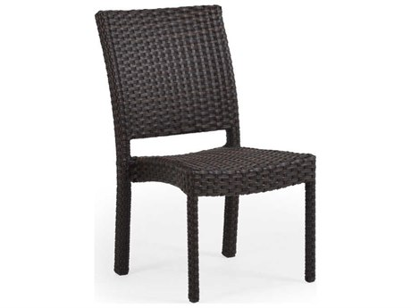 Palm Springs Rattan Seaside Dining Side Chair Replacement Cushion
