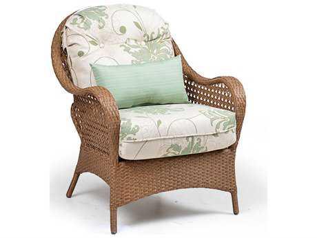 South Sea Rattan Wicker Panama Wicker Lounge Chair Sr78401