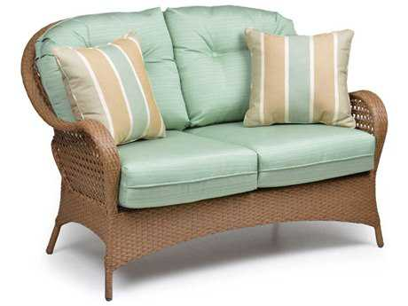 Palm Springs Rattan 6700 Series Deep Seating Loveseat