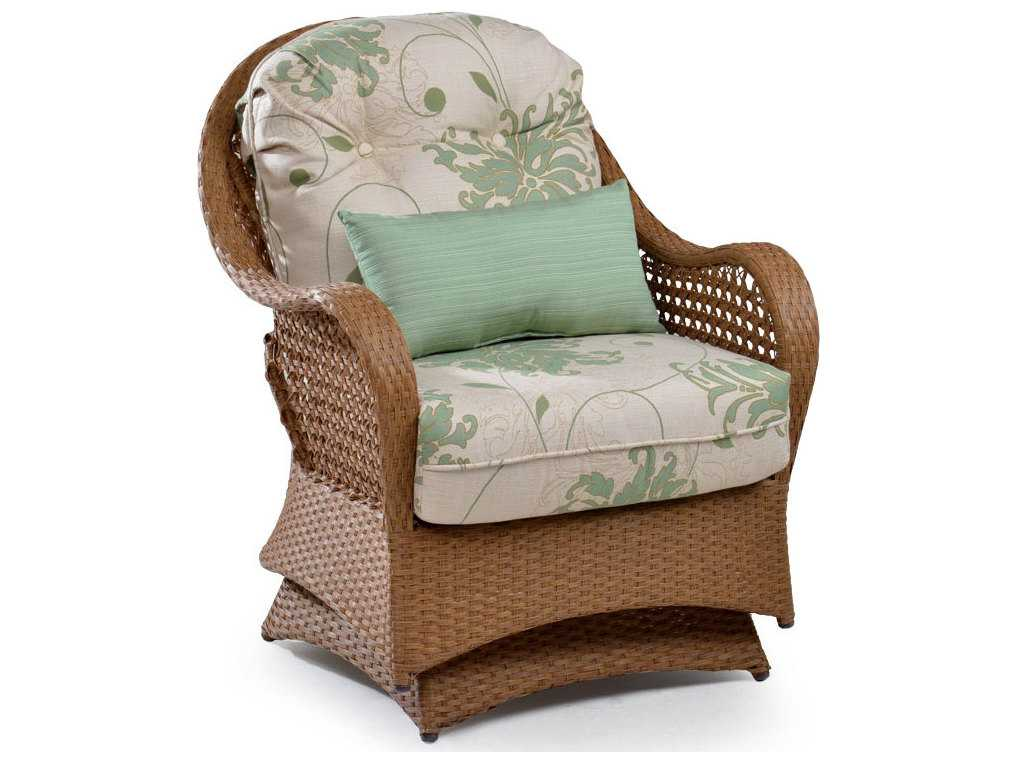Palm Springs Rattan 6700 Series Deep Seating Spring Chair