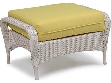 Palm Springs Rattan 6700 Series Ottoman w/ Cushion