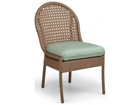 Palm Springs Rattan 6700 Series Dining Side Chair w/ Seat Cushion