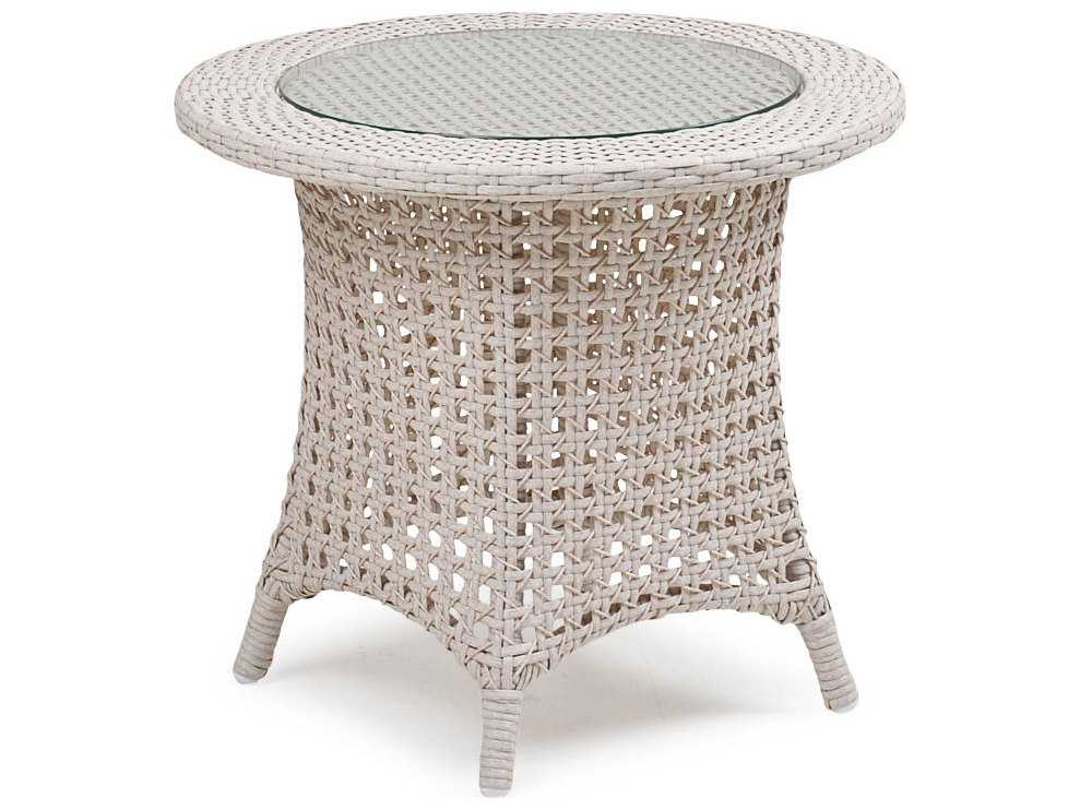 Palm Springs Rattan 6700 Series 21 5 X 24 Round End Table