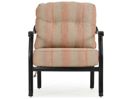 Palm Springs Rattan Dauphine Cast Aluminum Lounge Chair