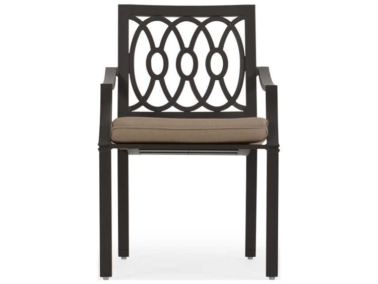 Palm Springs Rattan Camden Aluminum Dining Arm Chair PatioLiving