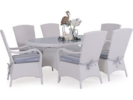 Palm Springs Rattan Alexandria Wicker Dining Set